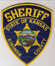 Sheriff - State of Kansas - Kingman County badge